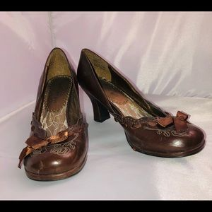 Brown Madden Girl Shoes 8.5